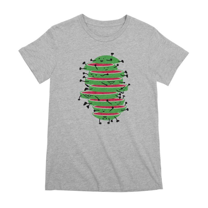 Sliced Women's Premium T-Shirt by magicmagic