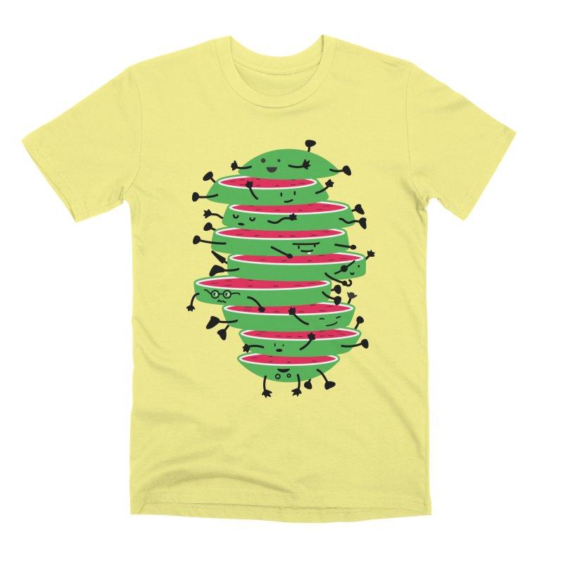 Sliced Men's Premium T-Shirt by magicmagic