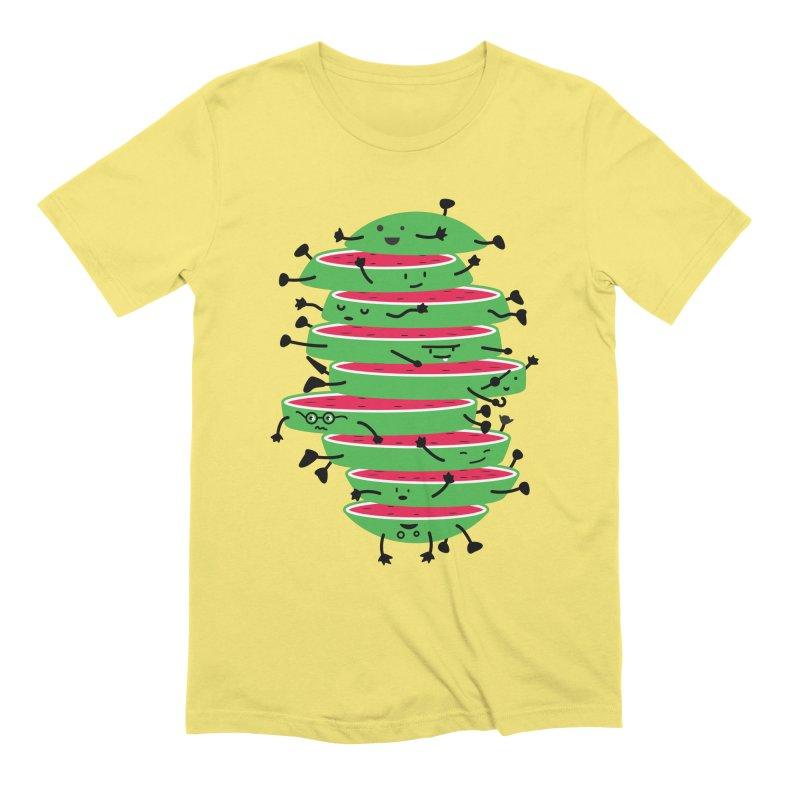 Sliced Men's Extra Soft T-Shirt by magicmagic