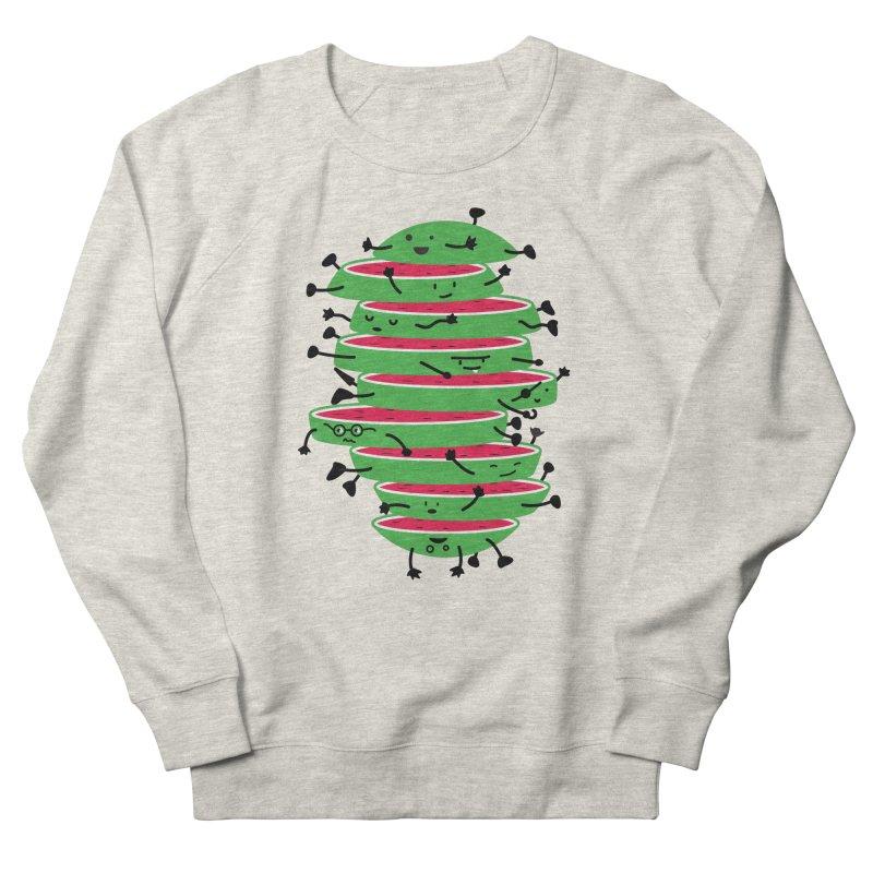 Sliced Women's French Terry Sweatshirt by magicmagic
