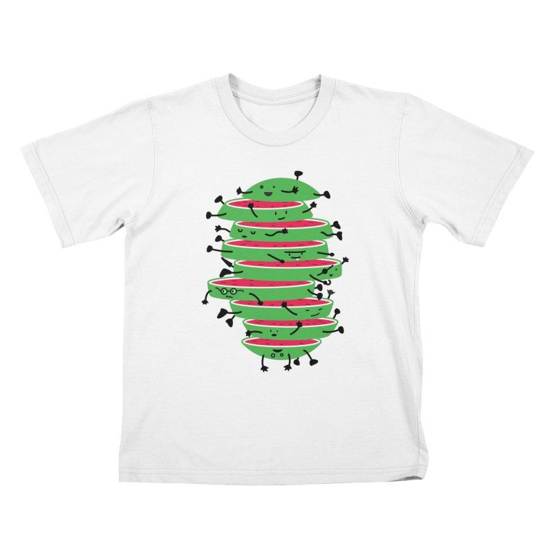 Sliced Kids T-Shirt by magicmagic