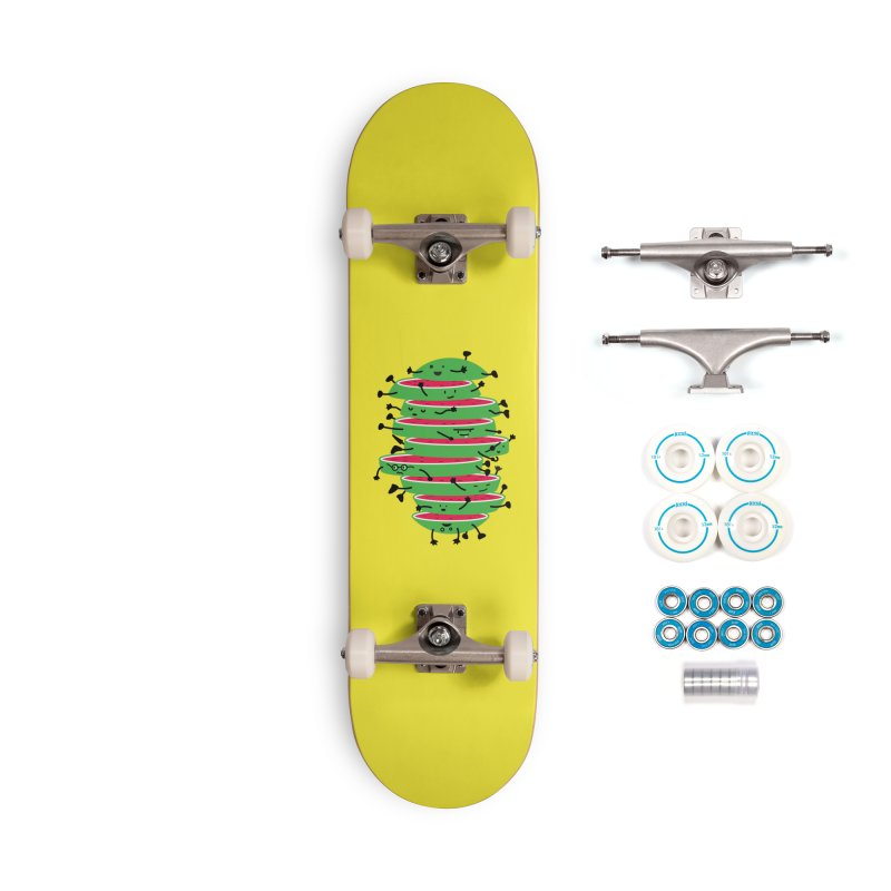 Sliced Accessories Complete - Basic Skateboard by magicmagic