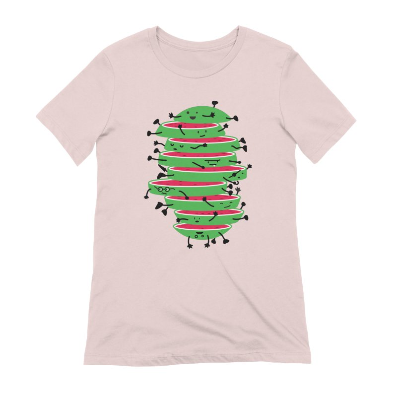 The tough life of a watermelon Women's Extra Soft T-Shirt by magicmagic