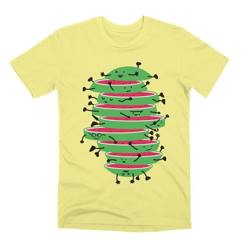 The tough life of a watermelon Men's Premium T-Shirt by magicmagic