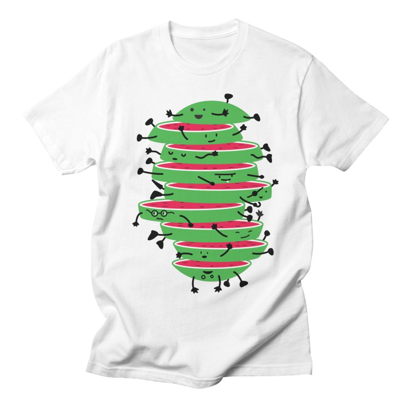 The tough life of a watermelon Men's T-shirt by MagicMagic Artist Shop