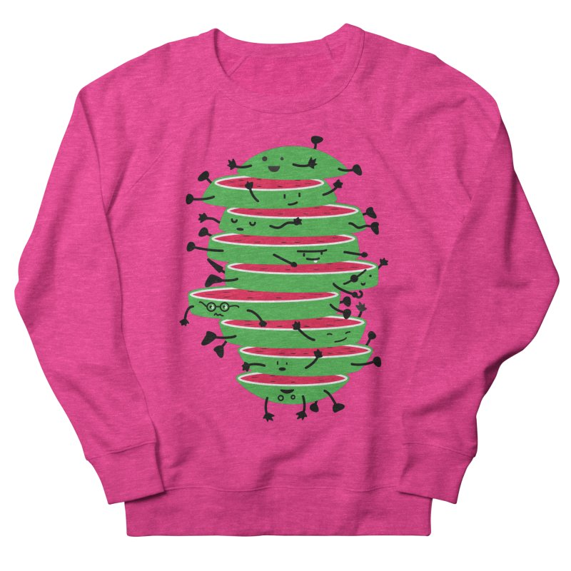 The tough life of a watermelon Women's Sweatshirt by MagicMagic Artist Shop