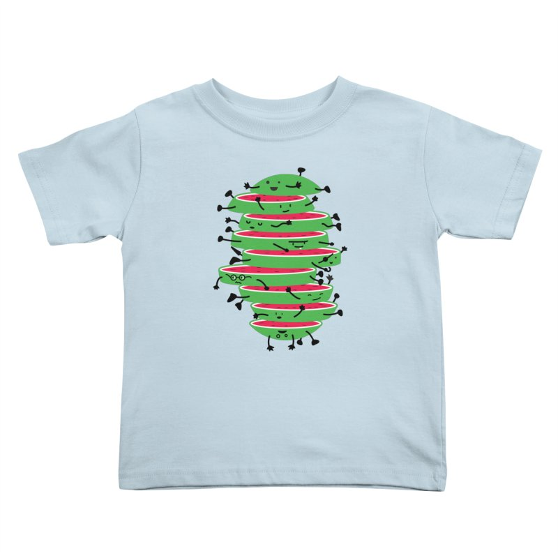 The tough life of a watermelon Kids Toddler T-Shirt by MagicMagic Artist Shop