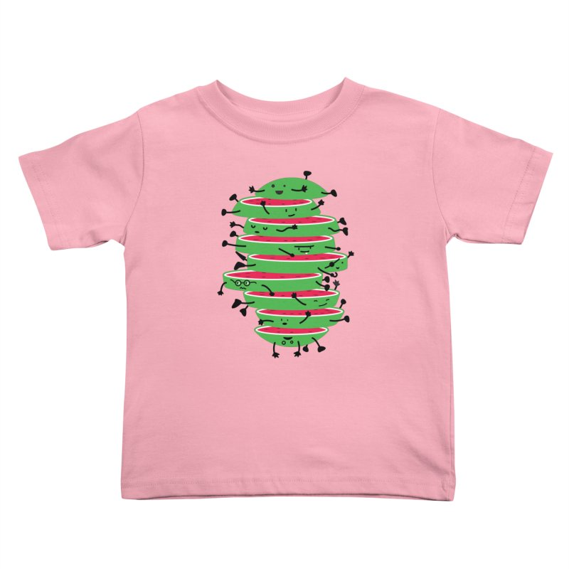 The tough life of a watermelon Kids Toddler T-Shirt by magicmagic