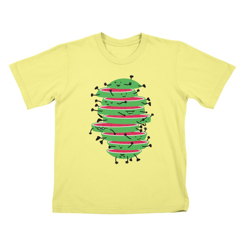 The tough life of a watermelon Kids T-shirt by MagicMagic Artist Shop