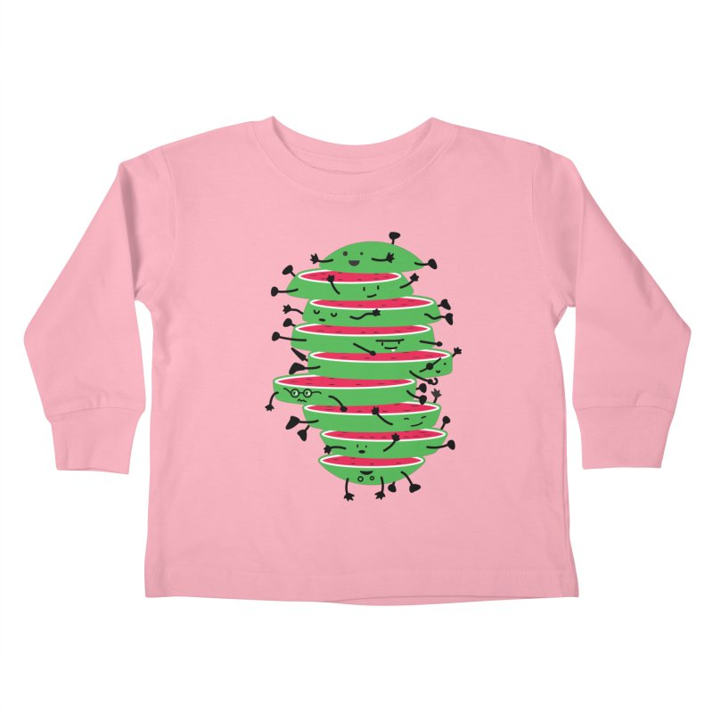The tough life of a watermelon Kids Toddler Longsleeve T-Shirt by magicmagic