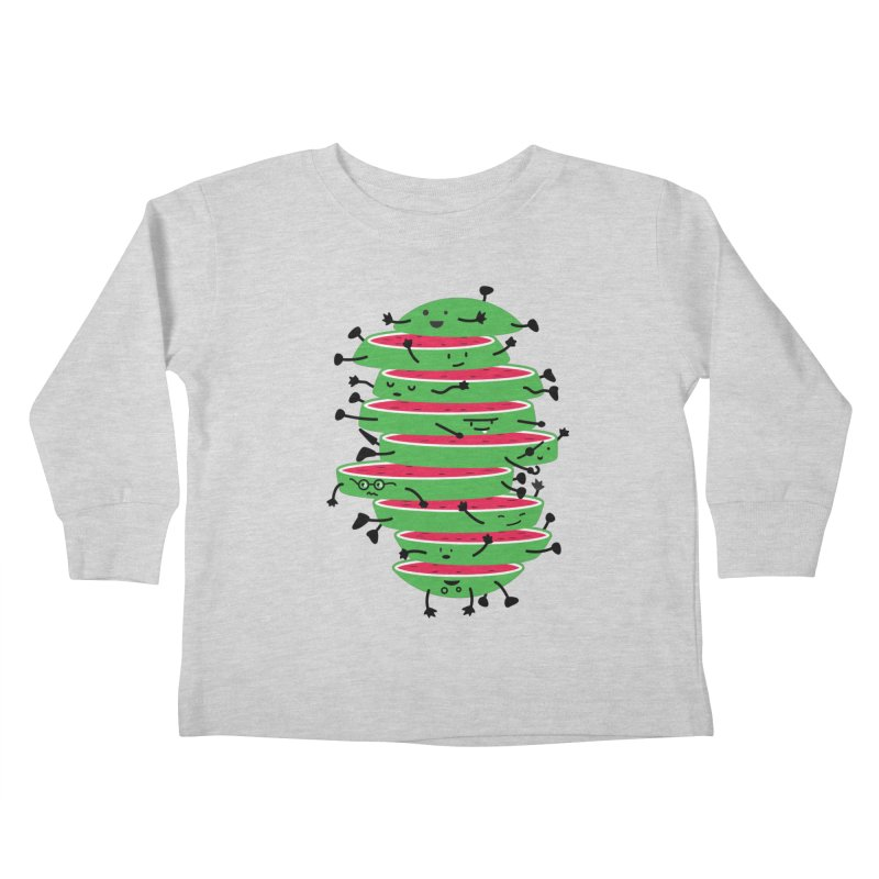 The tough life of a watermelon Kids Toddler Longsleeve T-Shirt by MagicMagic Artist Shop