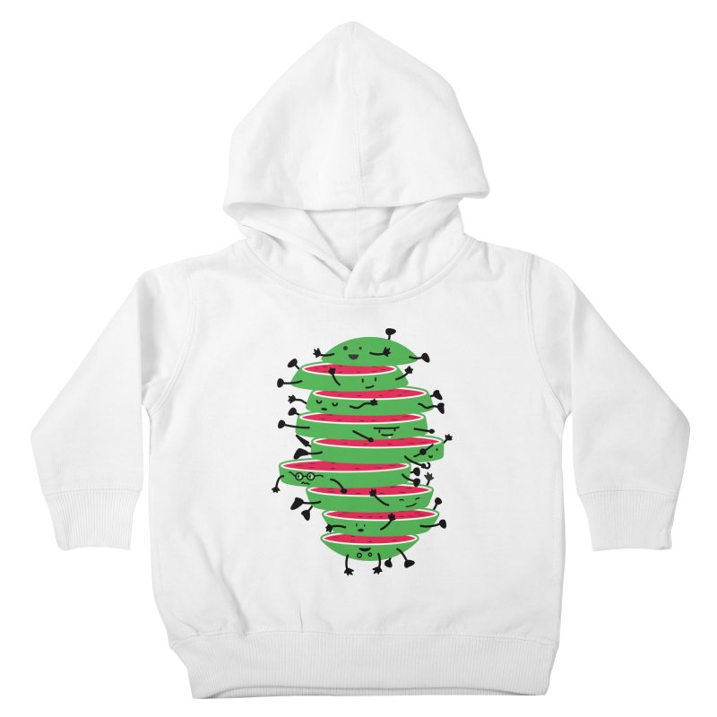 The tough life of a watermelon Kids Toddler Pullover Hoody by magicmagic