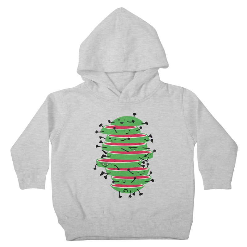 The tough life of a watermelon Kids Toddler Pullover Hoody by MagicMagic Artist Shop