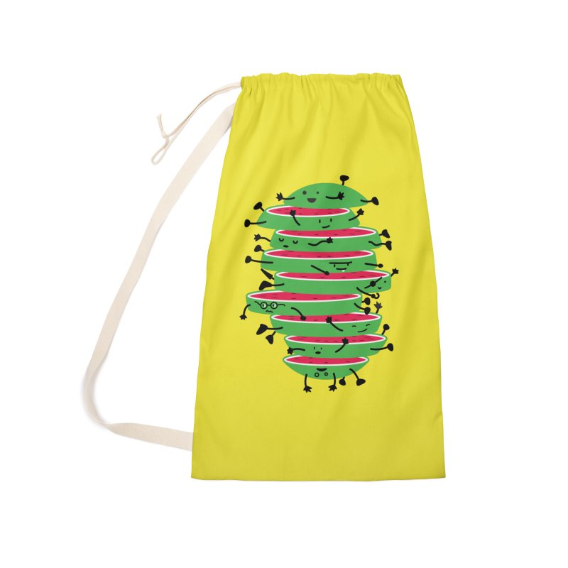 The tough life of a watermelon Accessories Laundry Bag Bag by magicmagic