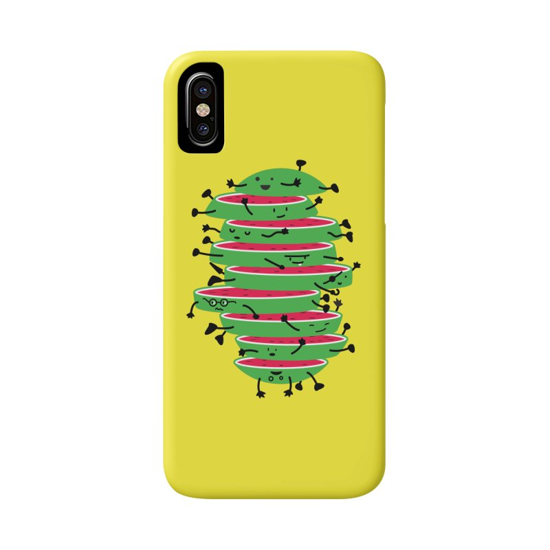 The tough life of a watermelon Accessories Phone Case by MagicMagic Artist Shop
