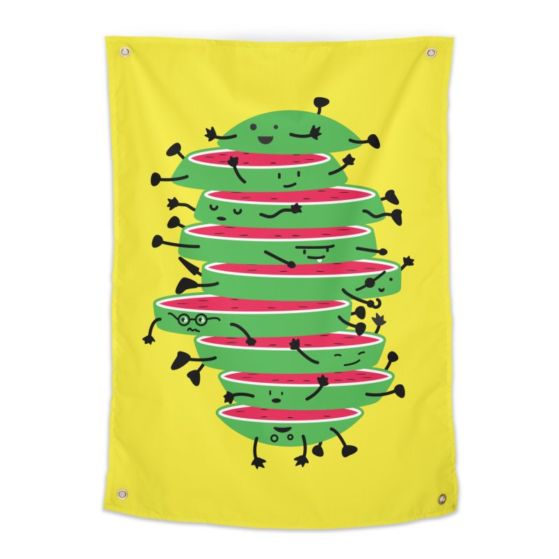 The tough life of a watermelon Home Tapestry by MagicMagic Artist Shop