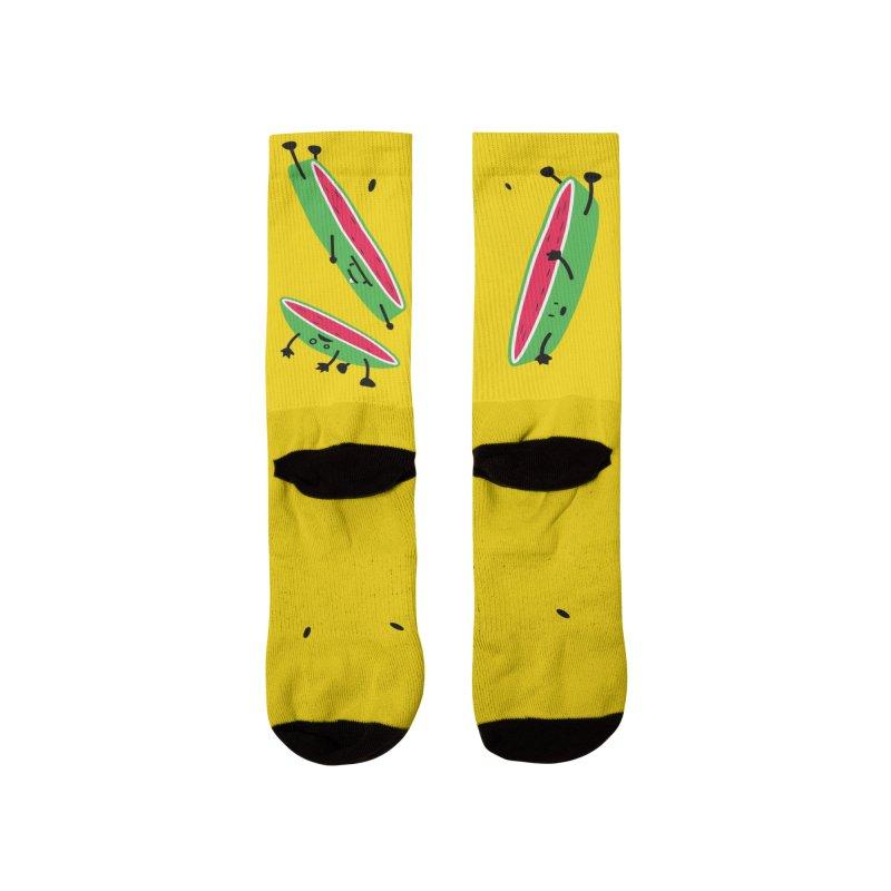 Sliced Men's Socks by magicmagic