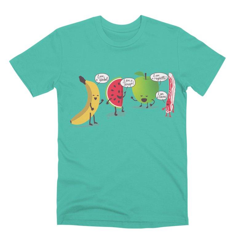 Egos in the fridge Men's Premium T-Shirt by magicmagic