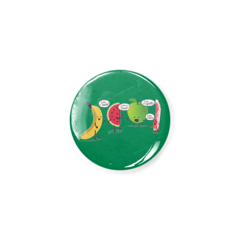 Egos in the fridge Accessories Button by magicmagic