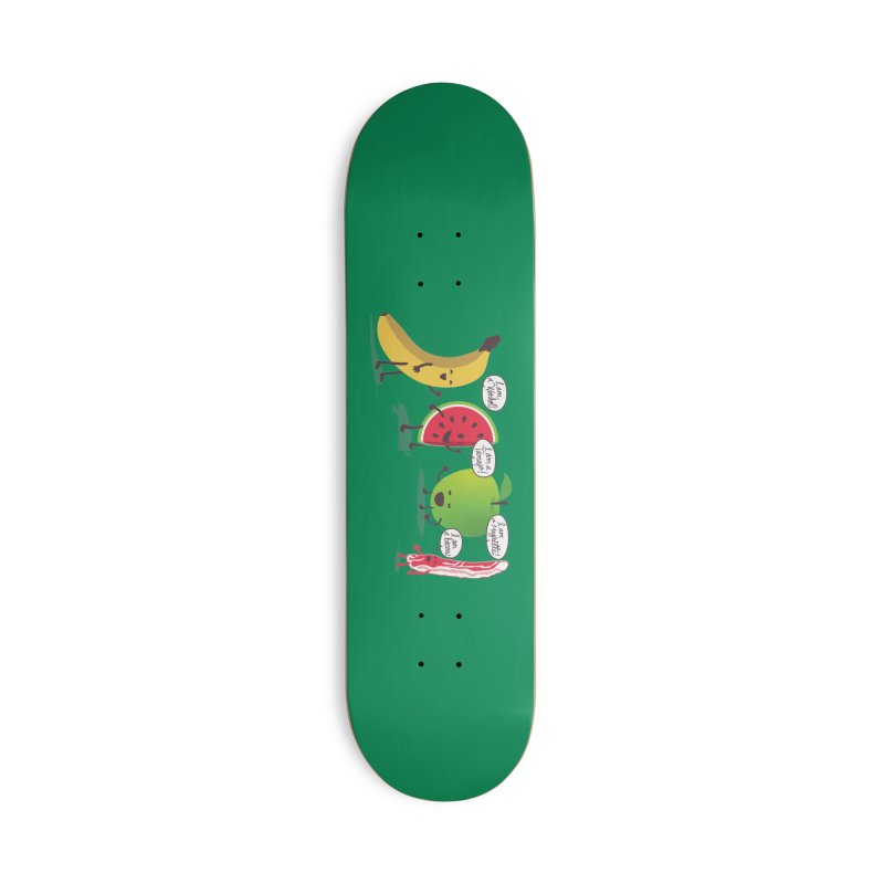 Egos in the fridge Accessories Deck Only Skateboard by magicmagic