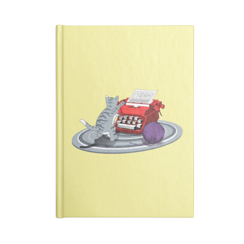 Attitude is my language Accessories Blank Journal Notebook by magicmagic