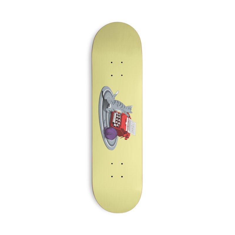 Attitude is my language Accessories Deck Only Skateboard by magicmagic