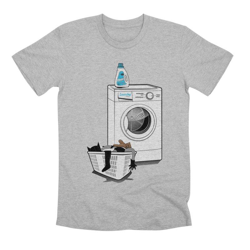 Laundry time Men's Premium T-Shirt by magicmagic