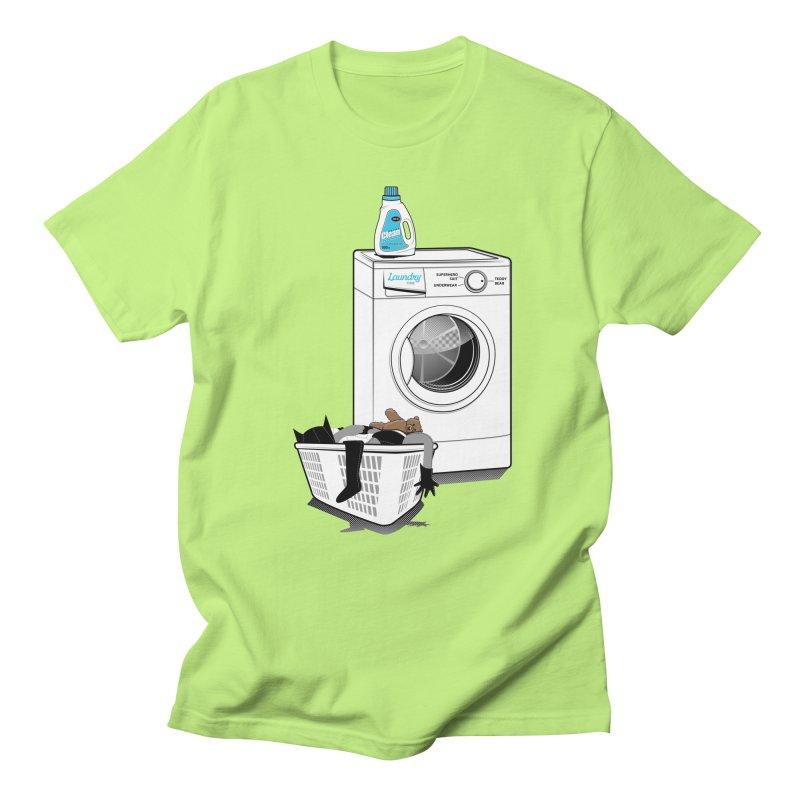 Laundry time Women's Regular Unisex T-Shirt by magicmagic