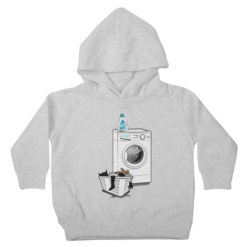 Laundry time Kids Toddler Pullover Hoody by magicmagic