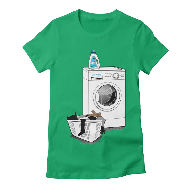 Laundry time Women's Fitted T-Shirt by magicmagic