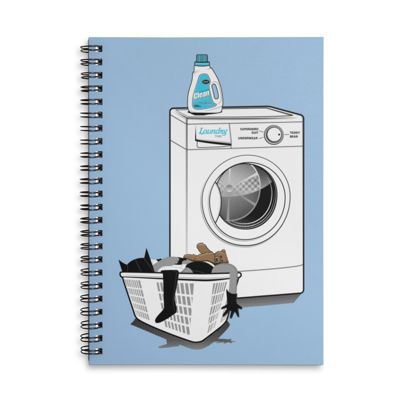 Laundry time Accessories Lined Spiral Notebook by magicmagic