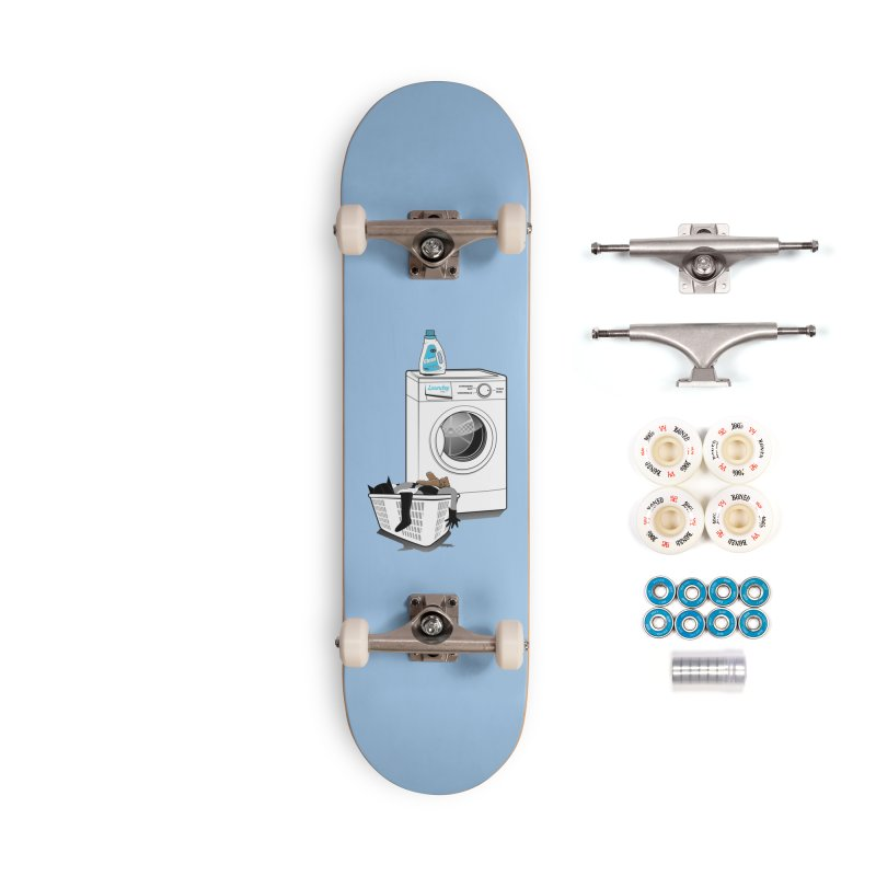 Laundry time Accessories Complete - Premium Skateboard by magicmagic