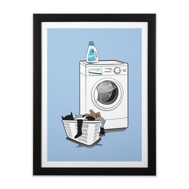 Laundry time Home Framed Fine Art Print by magicmagic