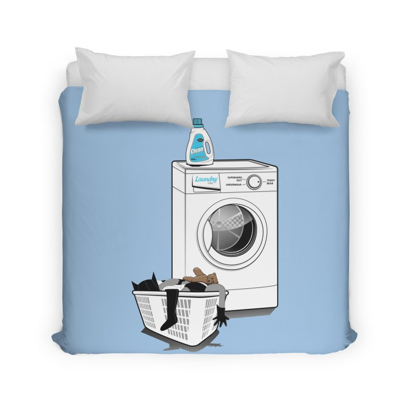 Laundry time Home Duvet by magicmagic