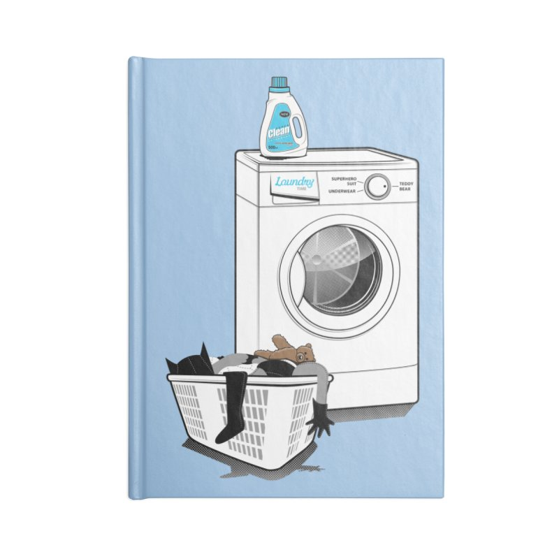 Laundry time Accessories Blank Journal Notebook by magicmagic