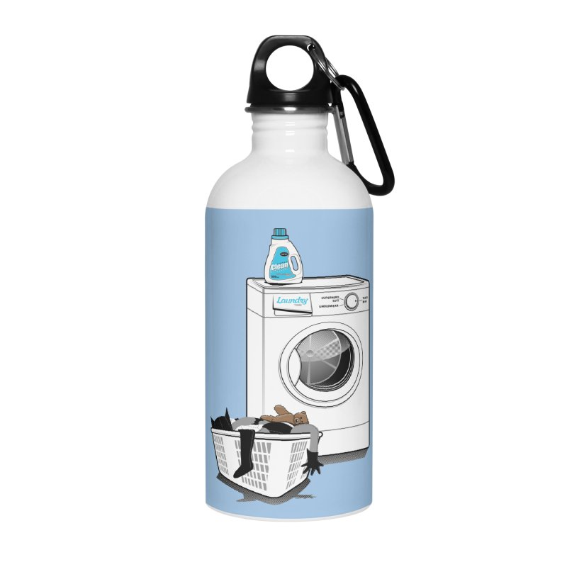 Laundry time Accessories Water Bottle by magicmagic