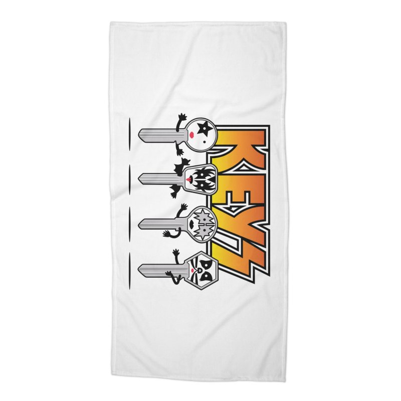 Keys Accessories Beach Towel by magicmagic