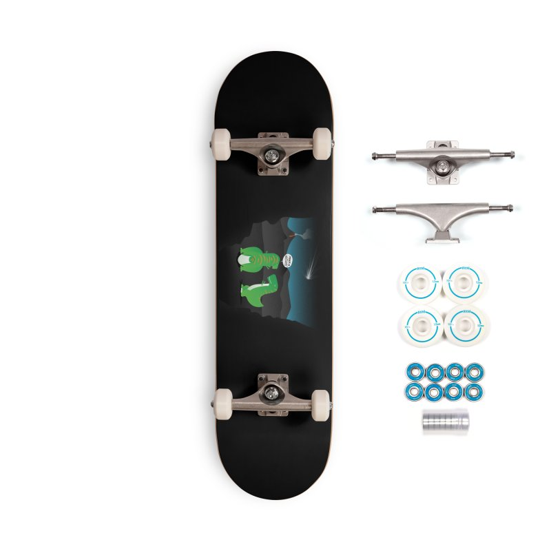 Make a wish Accessories Complete - Basic Skateboard by magicmagic