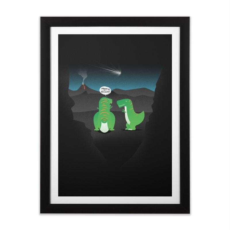 Make a wish Home Framed Fine Art Print by magicmagic