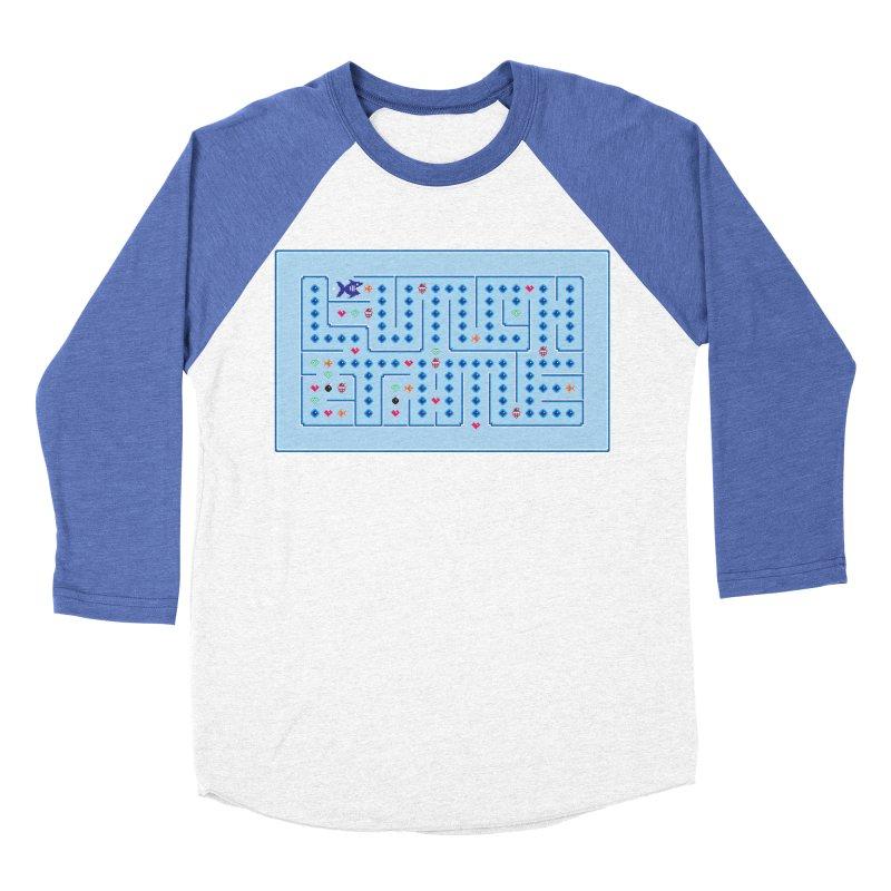 Lunch time Men's Baseball Triblend Longsleeve T-Shirt by magicmagic