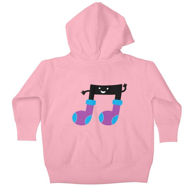 Warm music Kids Baby Zip-Up Hoody by magicmagic