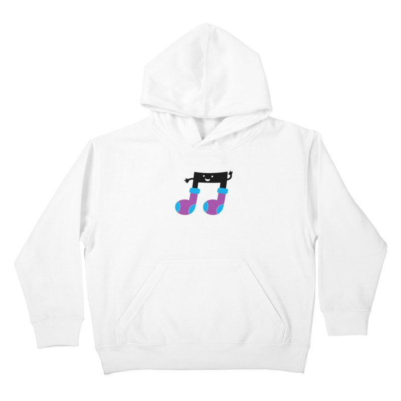 Warm music Kids Pullover Hoody by magicmagic