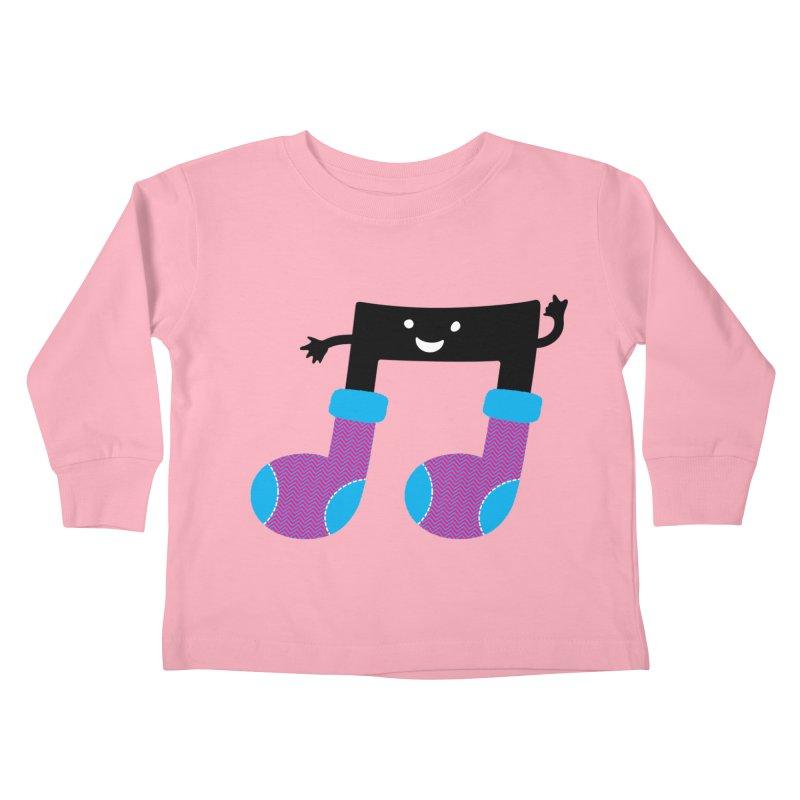 Warm music Kids Toddler Longsleeve T-Shirt by magicmagic
