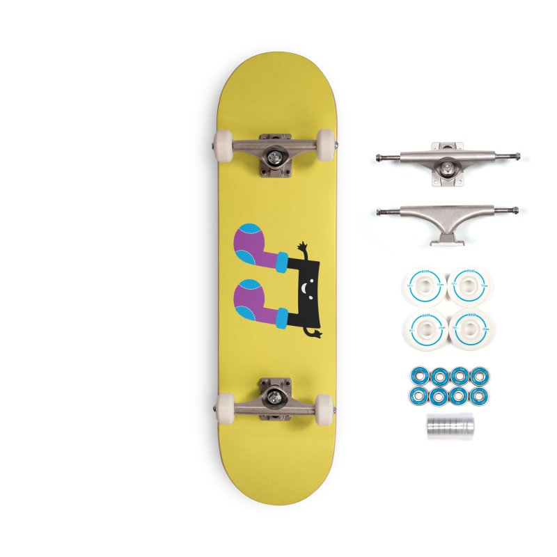 Warm music Accessories Complete - Basic Skateboard by magicmagic