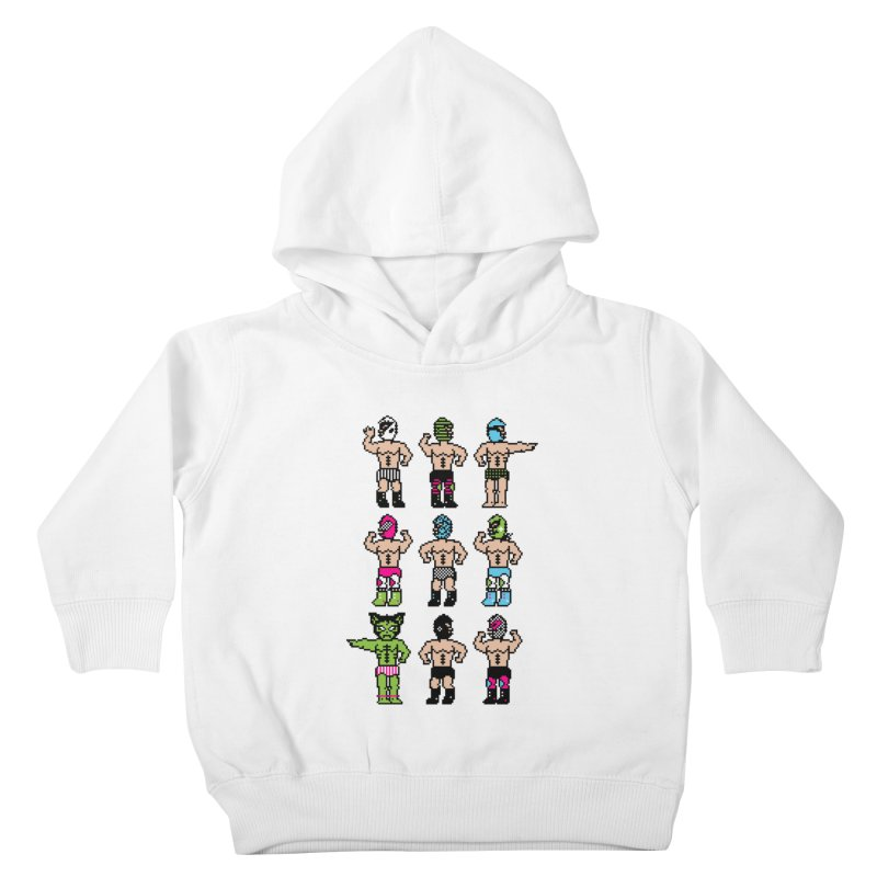 Wrestling maniacs Kids Toddler Pullover Hoody by magicmagic