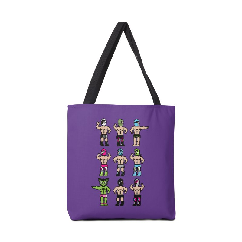 Wrestling maniacs Accessories Tote Bag Bag by magicmagic