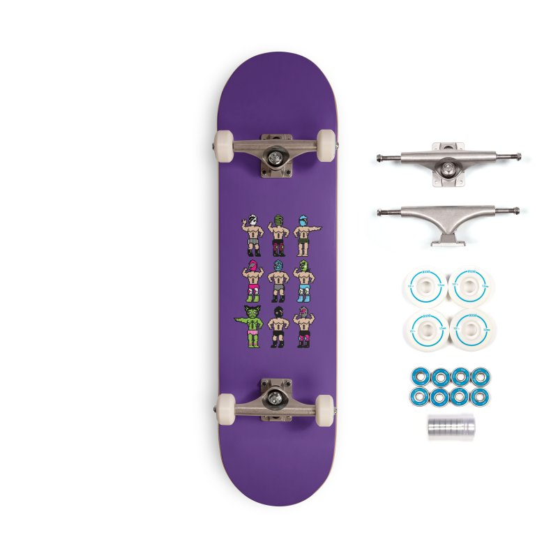 Wrestling maniacs Accessories Complete - Basic Skateboard by magicmagic