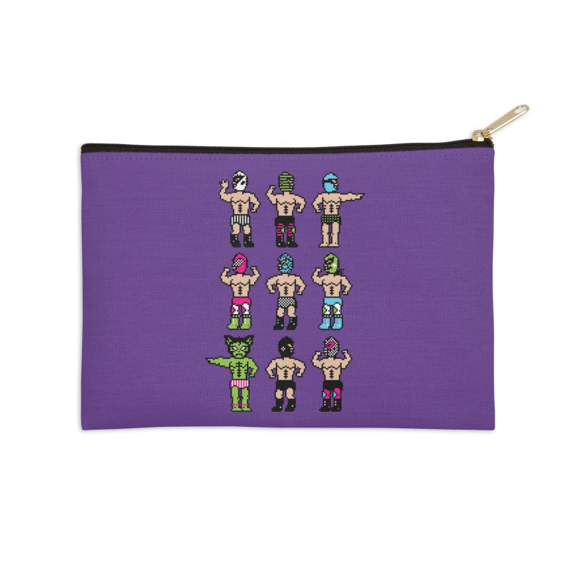 Wrestling maniacs Accessories Zip Pouch by magicmagic