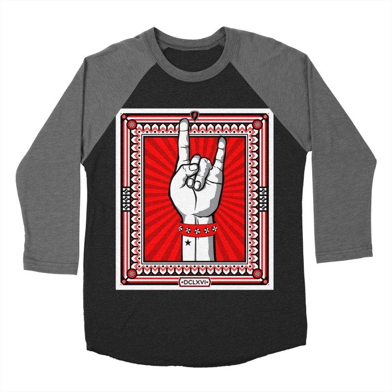 Glory Men's Baseball Triblend Longsleeve T-Shirt by magicmagic