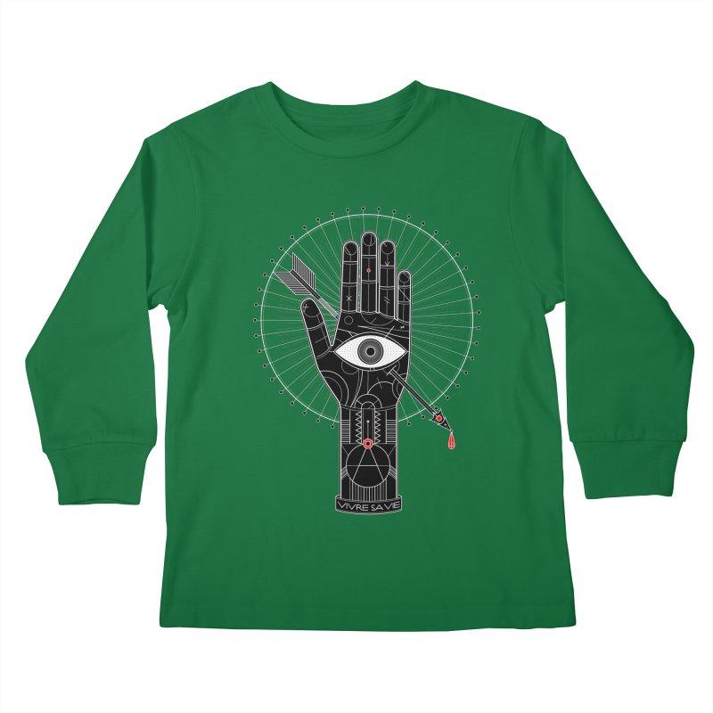 Vivre sa vie Kids Longsleeve T-Shirt by MagicMagic Artist Shop
